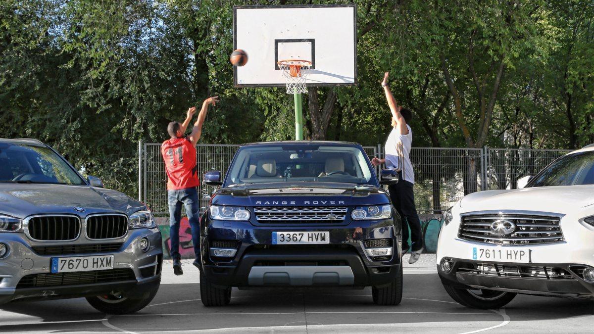 Comparativa X5/QX70S/Range Rover Sport