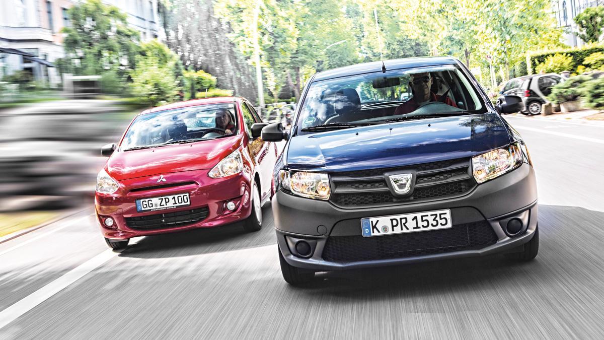 Comparativa Dacia Sandero Mitsubishi Space Star