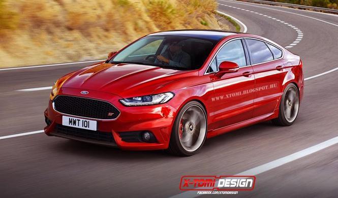 Así podría ser el futuro Ford Mondeo ST