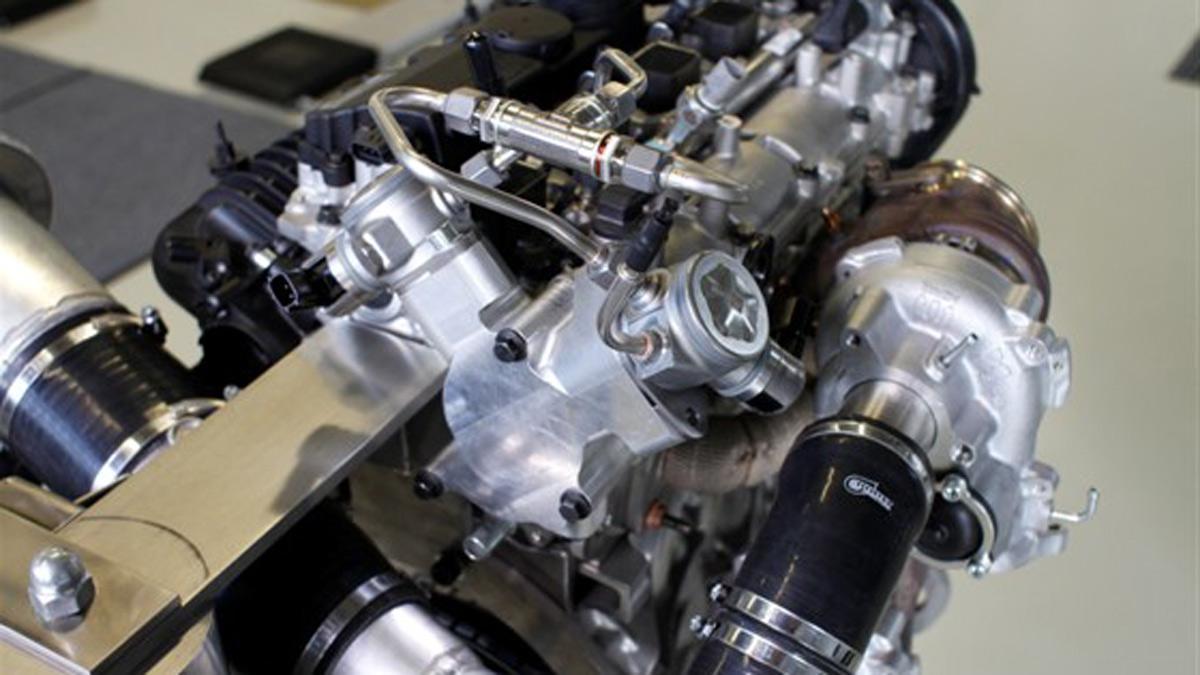 Nuevo motor Volvo