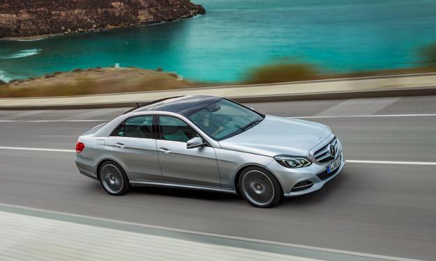 El futuro Mercedes Clase E, pillado en fase de pruebas