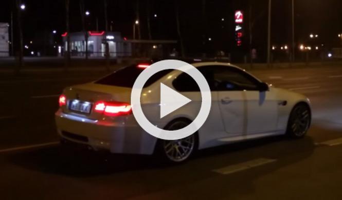 De nuevo, un BMW M3 se burla de la Policía