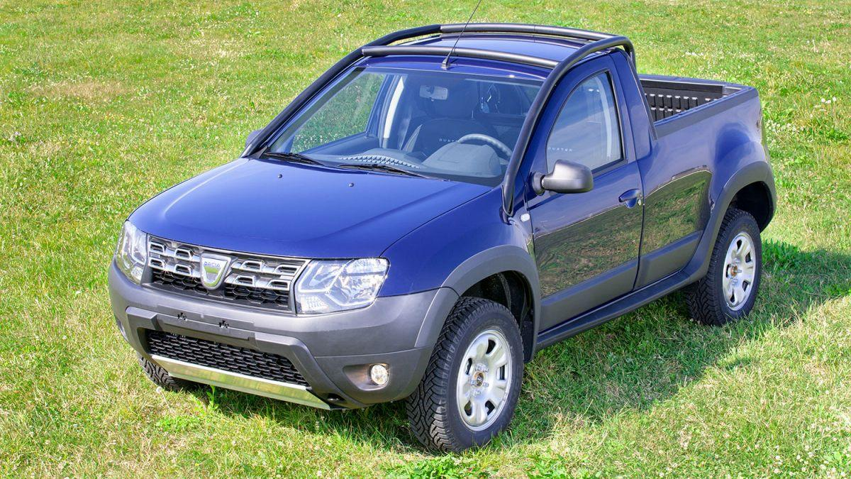 Dacia Duster Pick-Up frontal