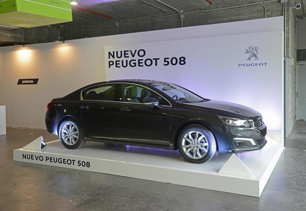 Nuevo Peugeot 508 en la Millesime Madrid 2014