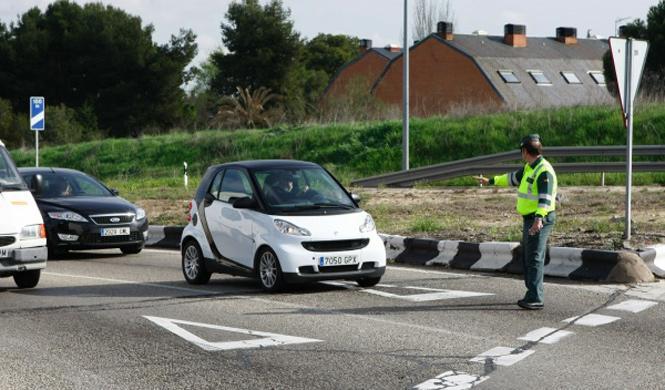 Un Guardia Civil, un portugués manco y una multa a 179 km/h