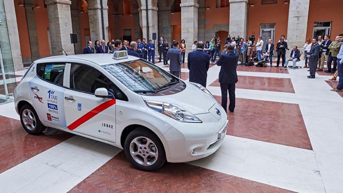 Madrid estrena taxi 100% eléctrico
