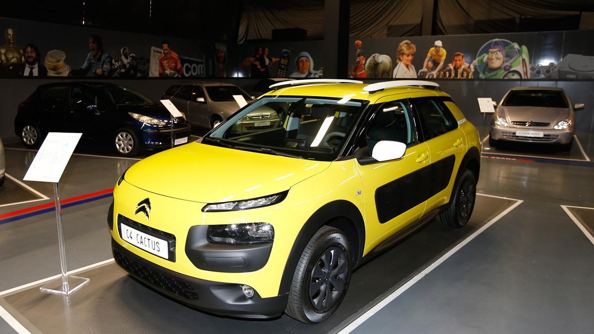 Citroën C4 Cactus origen