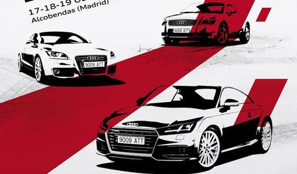 100 Audi TT se juntarán en Madrid el próximo fin de semana