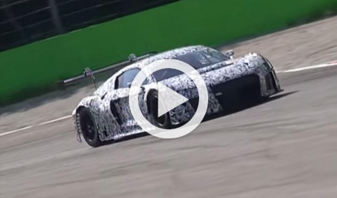 ¿El nuevo Audi R8 LMS Ultra o algo aún más gordo?