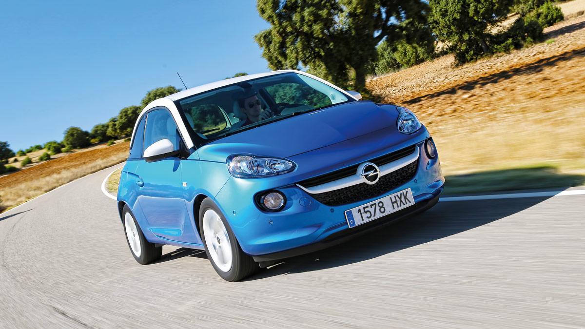 Delantera del Opel Adam