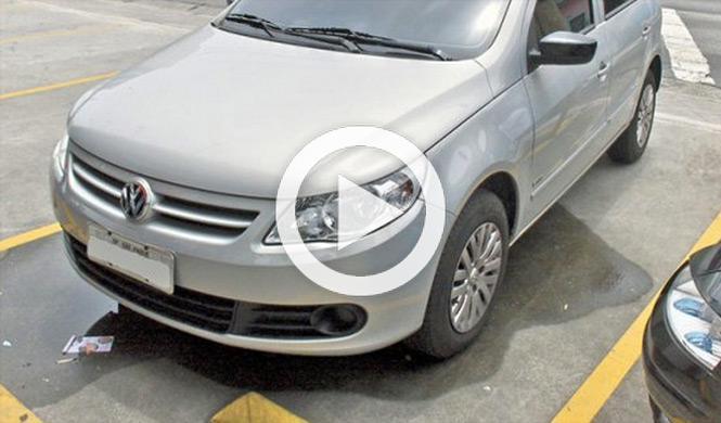 Pelea en un parking de Brasil