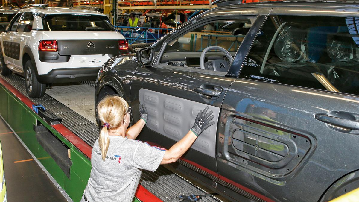 España es el noveno fabricante mundial de coches