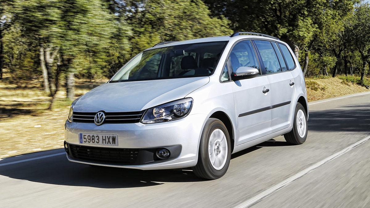 Prueba Volkswagen Touran 1.2 TSI Edition en marcha