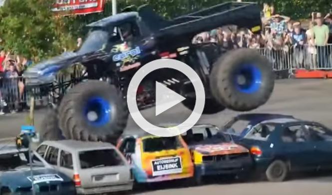 Un Monster Truck mata a tres personas en Holanda