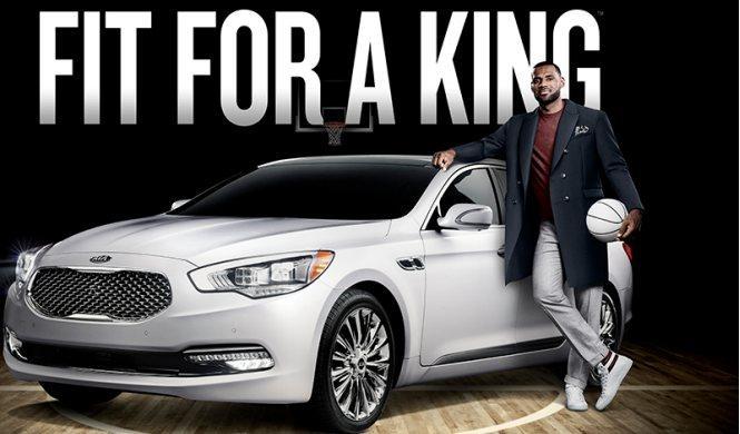 LeBron James, nuevo embajador del Kia