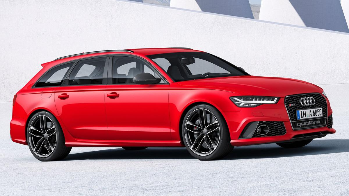 Cinco coches sorprenderan conduces Audi RS6 Avant delantera