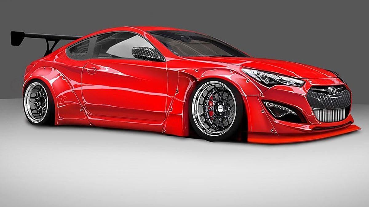 Hyundai Genesis Coupé de Tuner Blood Type Racing (BTR)