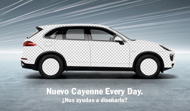 Porsche pide ayuda para crear el próximo Cayenne