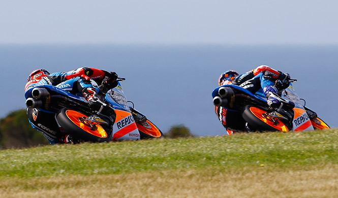 Clasificación Moto3 GP Australia 2014: triplete español