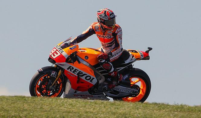 Parrilla de salida MotoGP GP Australia 2014