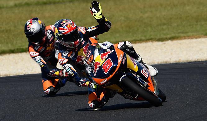Carrera Moto3 GP Australia 2014: Miller gana en casa