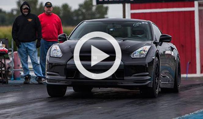 Este Nissan GT-R de 2.000 CV hace caballitos al acelerar