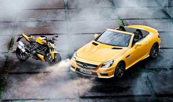 Mercedes compra el 25% de la marca de motos MV Agusta