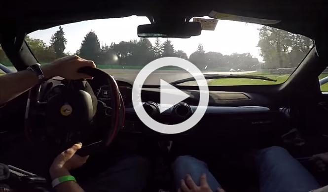 Vídeo: sube a bordo de un Ferrari LaFerrari en Monza