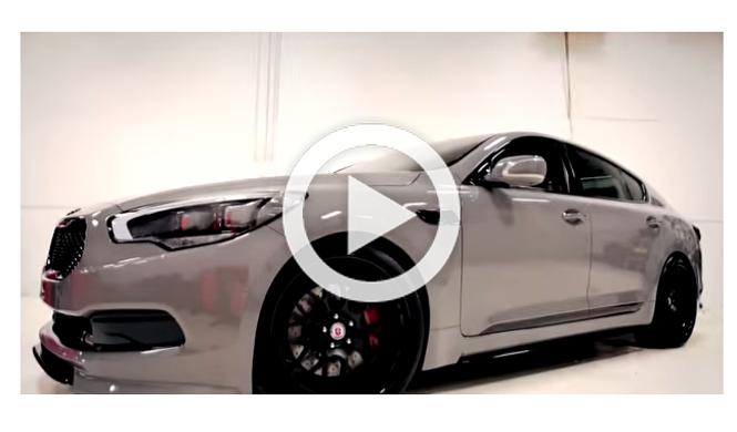 Vídeo: un impresionante Kia K900 para el SEMA