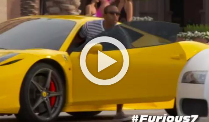 Los coches de 'A todo gas 7', en vídeo