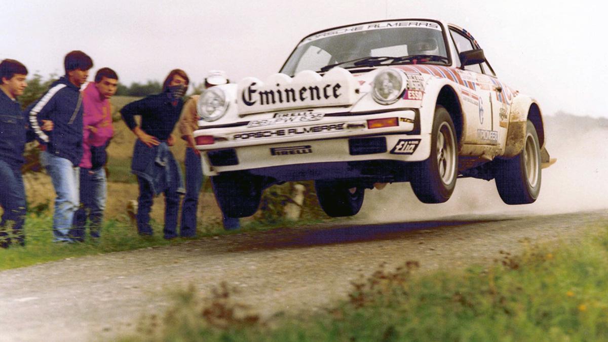 Walter Röhrl Porsche 911 SC