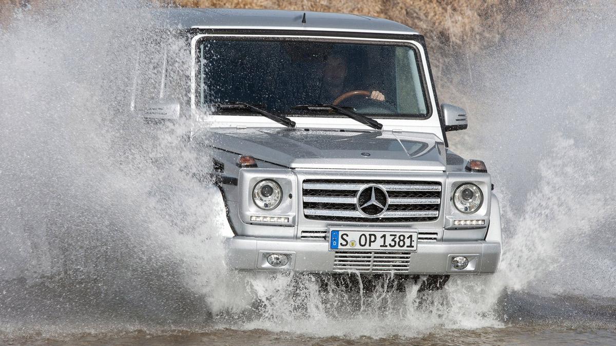 cinco coches alemanes no fabrican Alemania  Mercedes Clase G