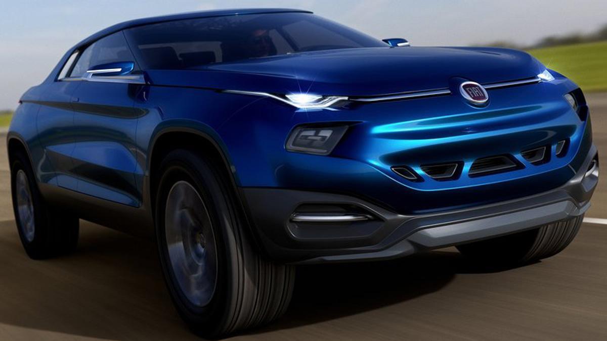 Fiat FCC4 Concept parrilla