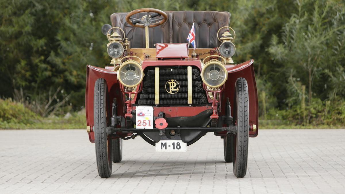 Panhard Et Levassor Model KB delantera