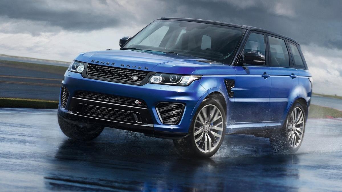 Mayores rivales nuevo BMW X5 M Range Rover Sport SVR