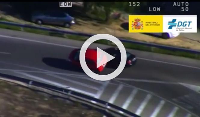 Vídeo: las locuras al volante grabadas por la DGT