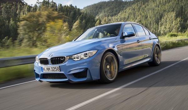 Nuevo BMW M3 delantera