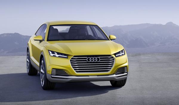 La tercera versión del Audi TT podría ser un crossover