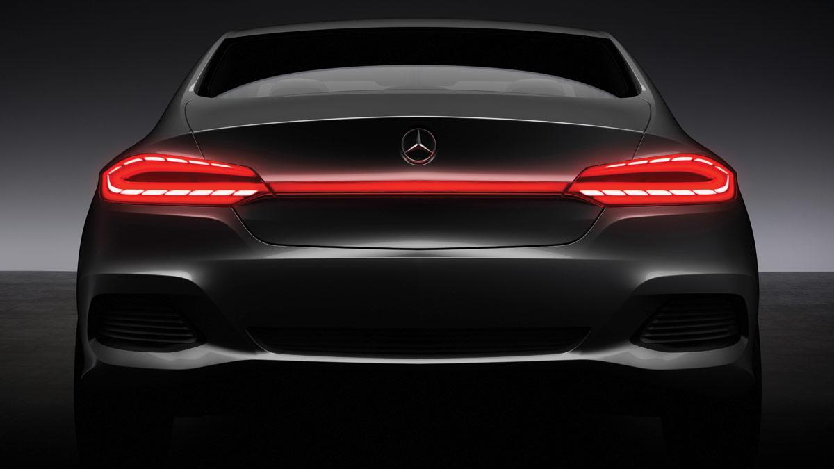 Mercedes F800 Style trasera