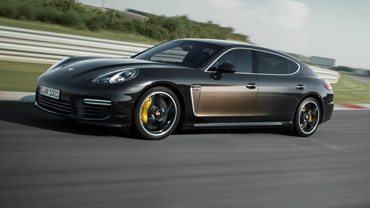 Porsche Panamera Exclusive Series movimiento