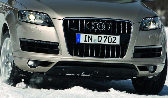 Primeras imágenes espía del habitáculo del nuevo Audi Q7