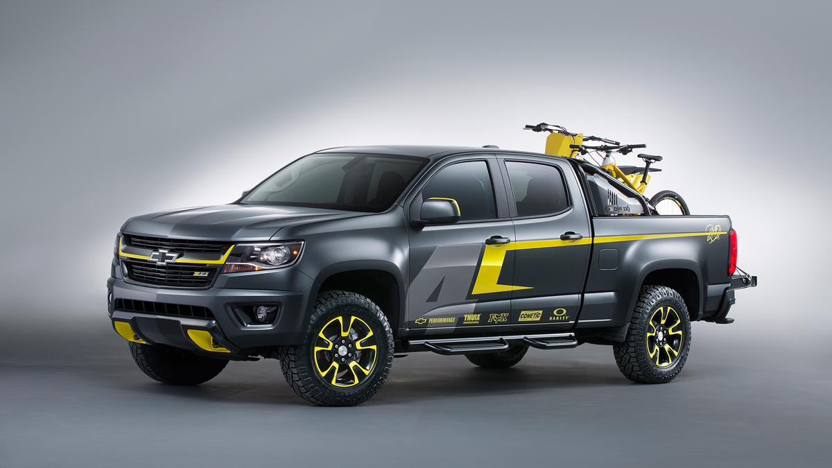 Chevrolet Colorado Performance Concept - frontal - foto de estudio
