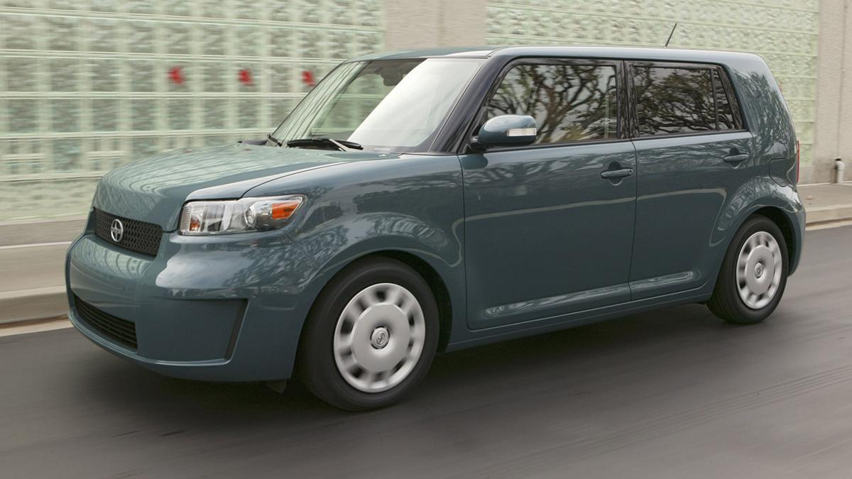 10 coches mas fiables estados unidos Scion xB