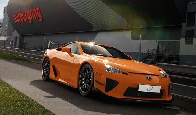 A la venta uno de los 50 Lexus LFA Nürburgring Edition