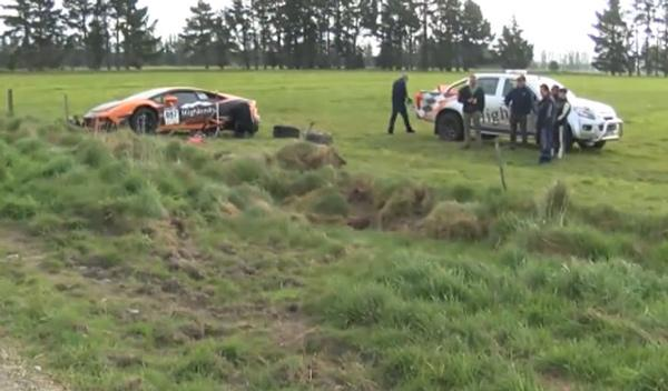 Vídeo: accidente de un Lamborghini Huracan en una carrera