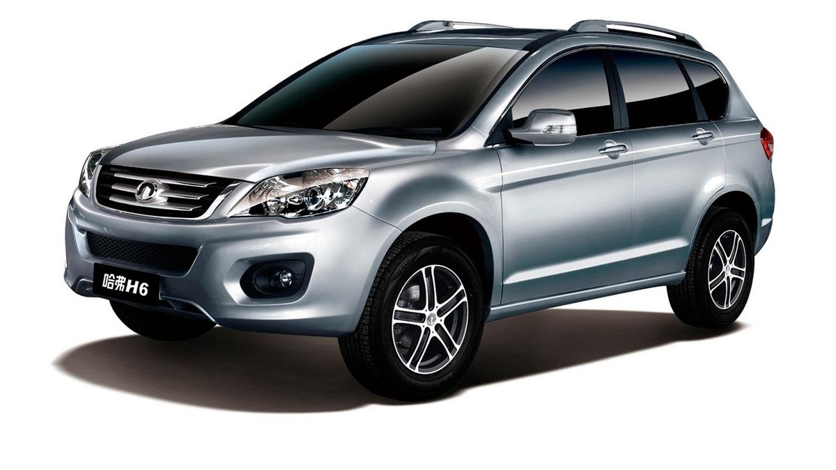 Great Wall Haval H6 delantera