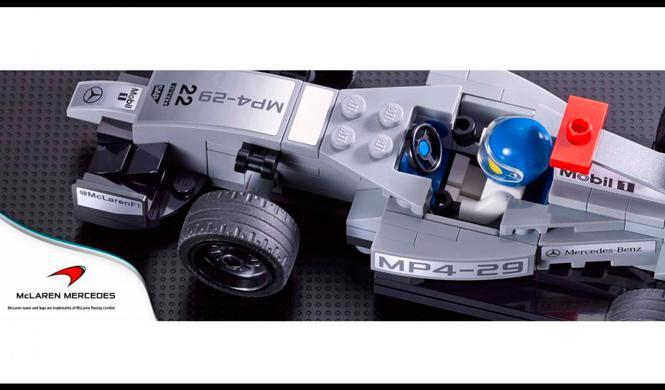 LEGO venderá kits de coches de Ferrari, McLaren o Porsche