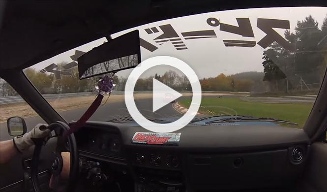 Vídeo: esto es lo que se siente al 'driftar' en Nürburgring