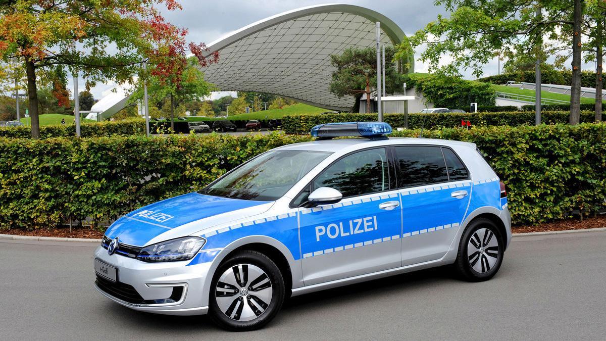 Golf-e Policía alemana