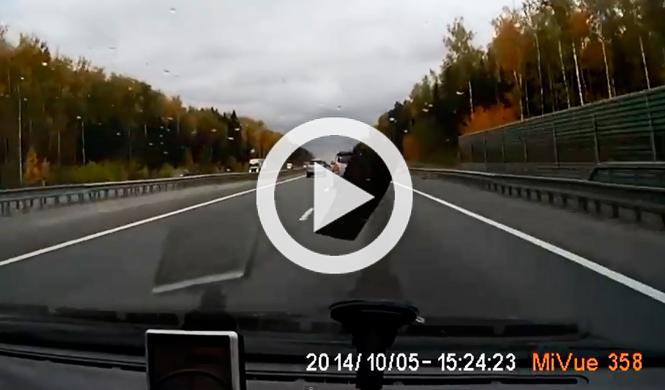 Vídeo: Objetos que te pueden saltar al coche en carretera